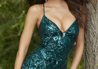 Morilee Sequin Fitted Prom Dress 43032