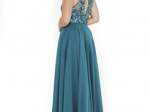 Dynasty Prom Dress Turquoise Gown Sparkle 1013635